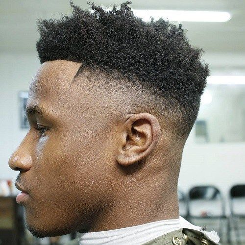 High Top Afro Fade Men's Haircut Ideas  Mens Short Haircuts, Haircuts for Men, Hairstyles for Men
