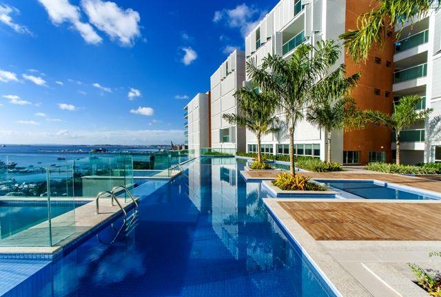 As Fachadas Folding Screen proporcionam um design exclusivo ao exterior do residencial.