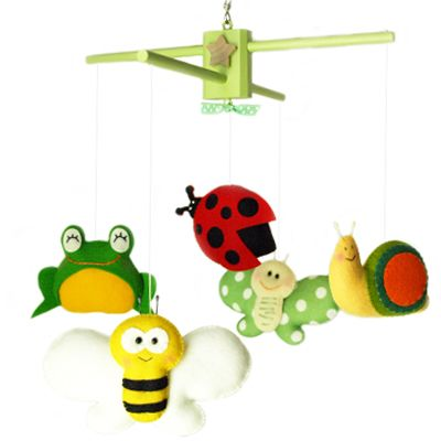 Great Gifts Define   Handmade Custom Mobile Garden Grace, Spring, Summer Theme Baby  Mobile For · Baby Change TablesCraft ...
