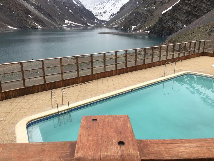 Lake and spa