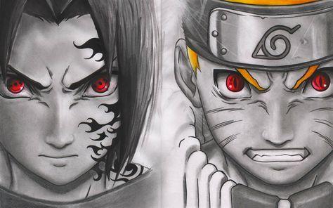 Télécharger fonds d'écran Uchiha Sasuke, Naruto Uzumaki, Manga, Naruto, choko tomoe, ninja ...