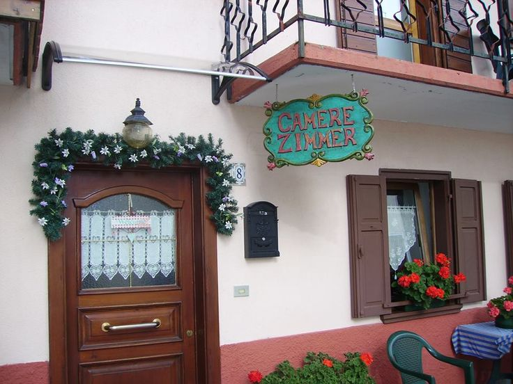 Entrata bed and breakfast camere da beppe