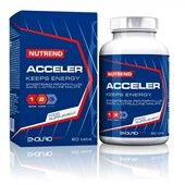 ACCELER 60 tablet Nutrend ACCELER je určen pro: vytrvalostní sportovce ke zvýšení produkce NO, který přispívá k vazodilataci (rozšíření cév).  AAKG Citrulin malát Gynostemma pentaphyllum