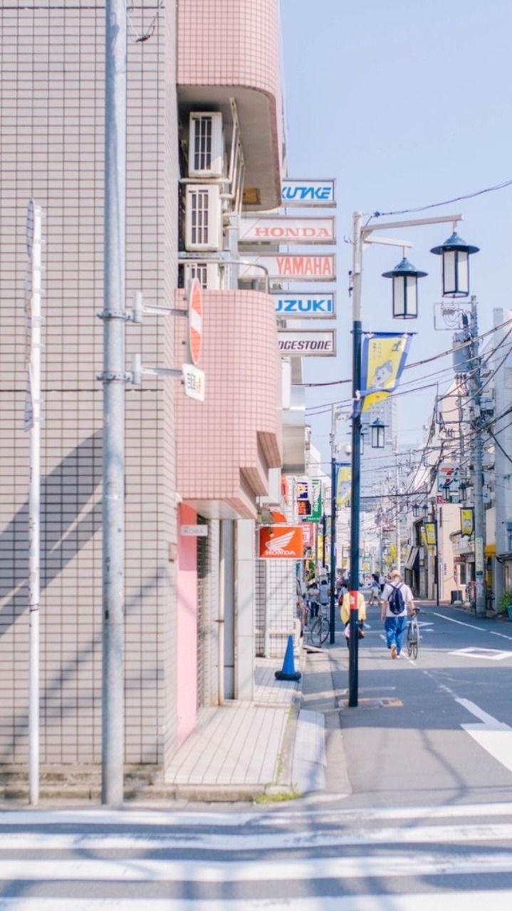 Lockscreens Pink Japan Aesthetic Lockscreens Reblog Or Like Fotografi Jalanan Gambar Kota Fotografi Kota