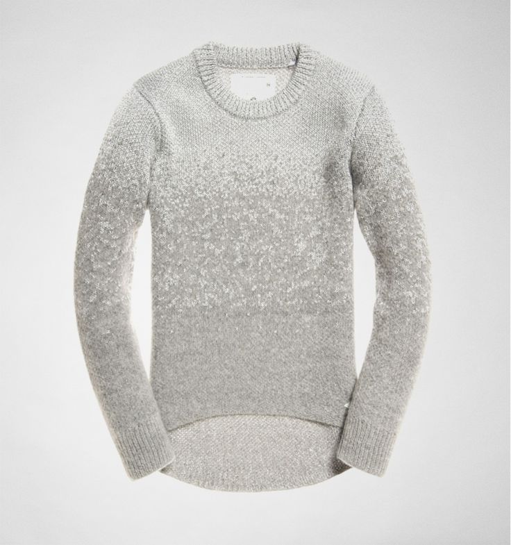 Superdry NYC Sparkle Knit G61019DN Grey Marl