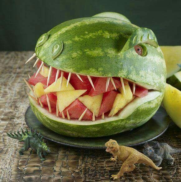 Dinosaurus watermeloen