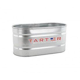 "Tarter Galvanized Stock Tank 300 Gallon WT328 - 96-3/4""L x 36-3/4""W x 23-3/4""H"