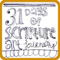 Art by Erin Leigh: 31 Days of Scripture Art Journaling - This is absolutely amazing. She takes a project a day and teaches the basics adding to it each day. Every day is a Scripture verse. When the project is completed, you have a 31-day Scripture journal. It is a must do for me!