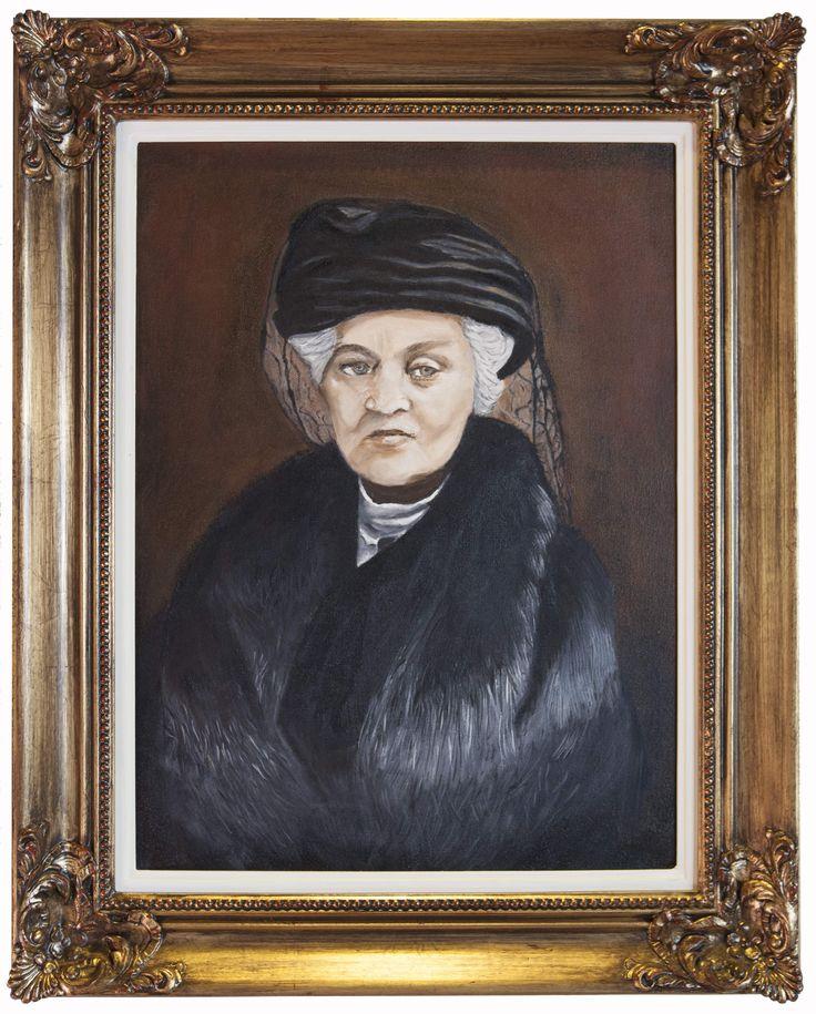 Mrs English, owner of Lanzerac Estate 1914