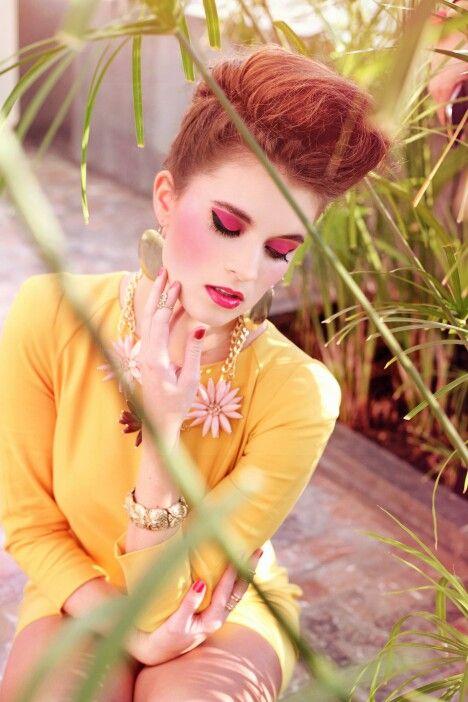 #spring #makeup #pink