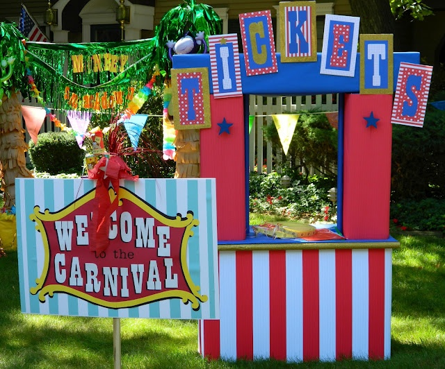 What happens at grandma 39 s family carnival could do something for nicole 39 s pokemon selling - Carnival theme party supplies ...