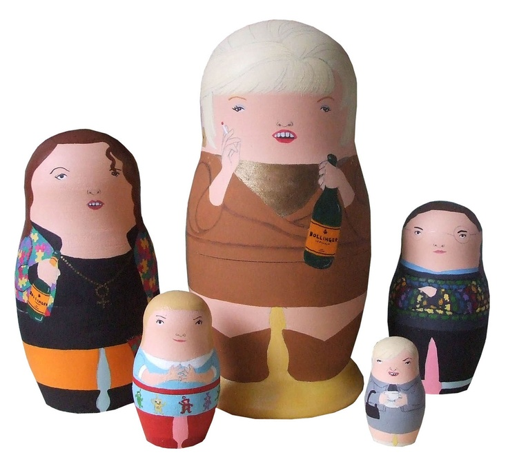 Absolutely Fabulous Nesting Doll Set
