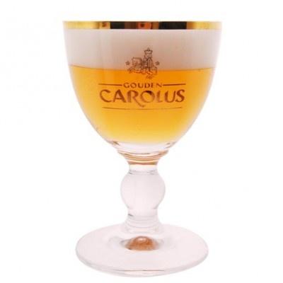 Verre à bière Gouden Carolus 15cl : achetez Verre à bière Gouden Carolus 15cl sur Pompe-a-biere.com