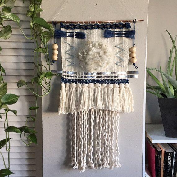 Shire Weaving // Woven wall hanging // by wildcolumbinetextile