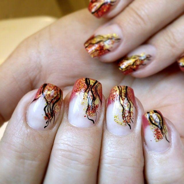 #sveanaglar #lillynails #nails #nailart #naglar #gelnails #gelenaglar #gelpolish #gelelack #acrylicnails #akrylnaglar #jul #julbling #julnaglar #instanails #nailstagram #nailtech #nailswag #nailprodigy #nailsmagazine #nailit #nailpromote #nails2inspire #nailporn #nailaddict #nagelförlängning #red #gold