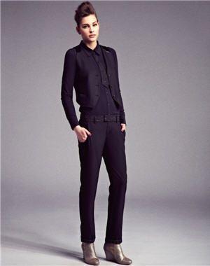 pantalon noir à strass de chipie women