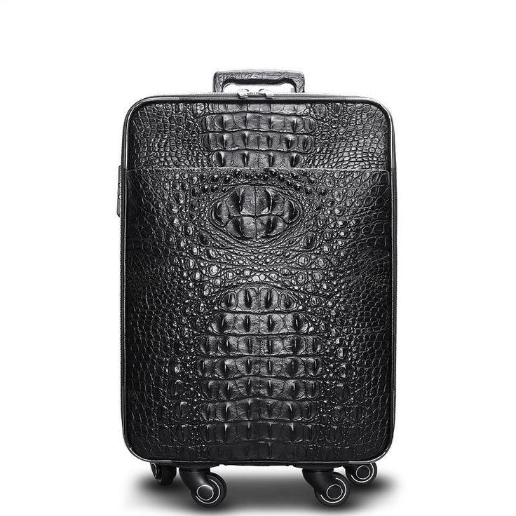 Luxury Luggage Bag, Business Trolley Travel Bag