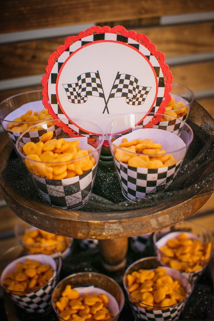 Race Car Themed Birthday Party                                                                                                                                                                                 More