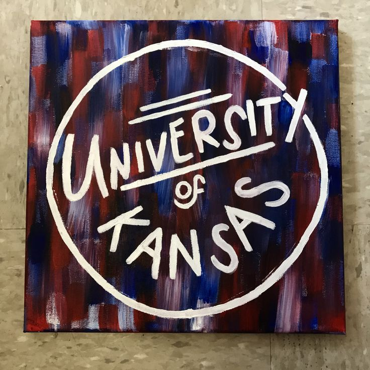 University of Kansas canvas