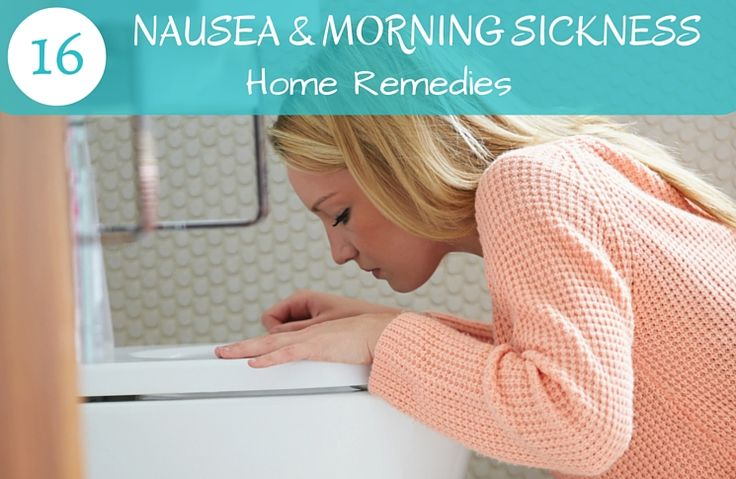 how to stop nausea during pregnancy naturally