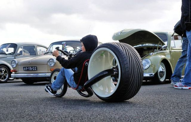 my future kid is getting this little big wheel