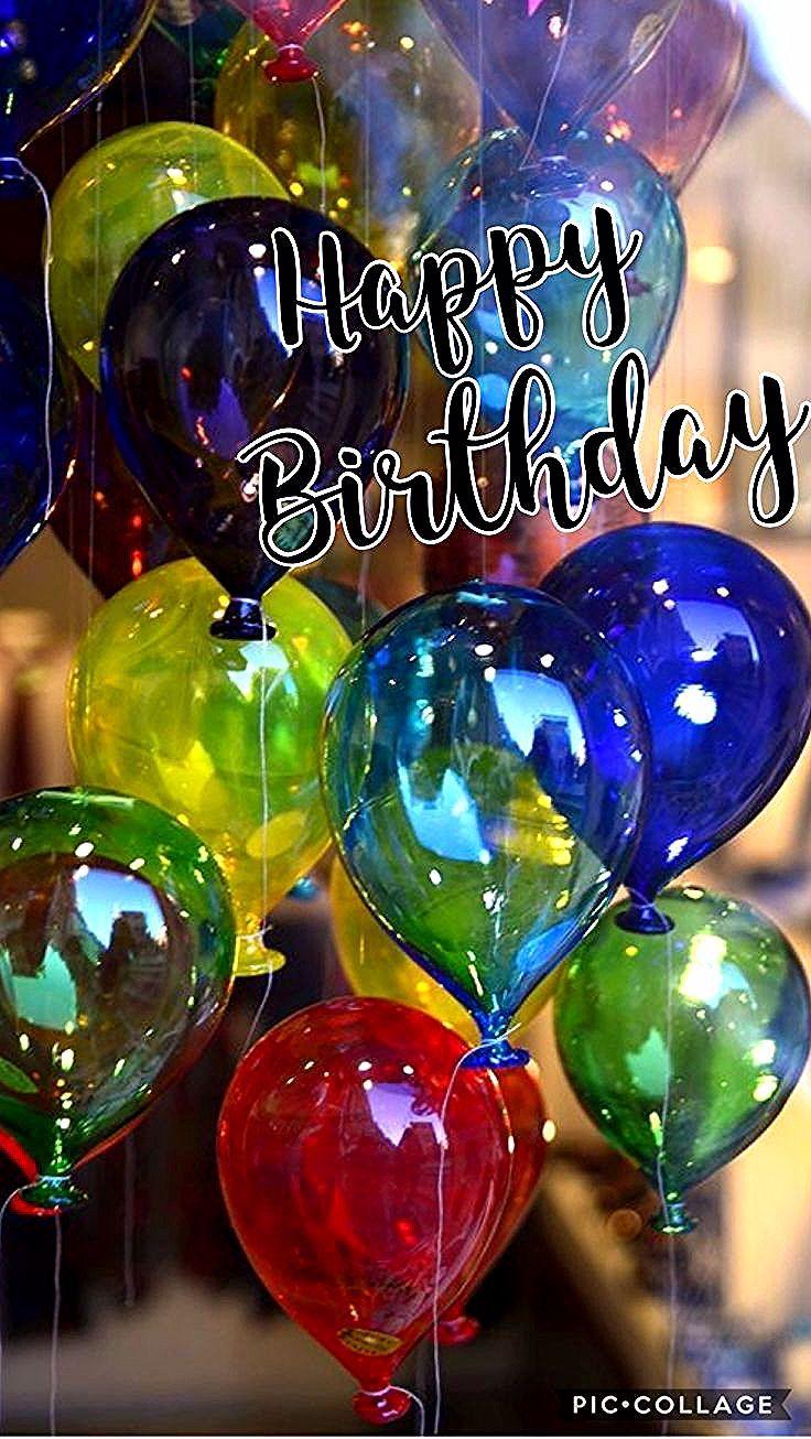 Luftballons Zum Geburtstag Birthdaywishes Geburtstag