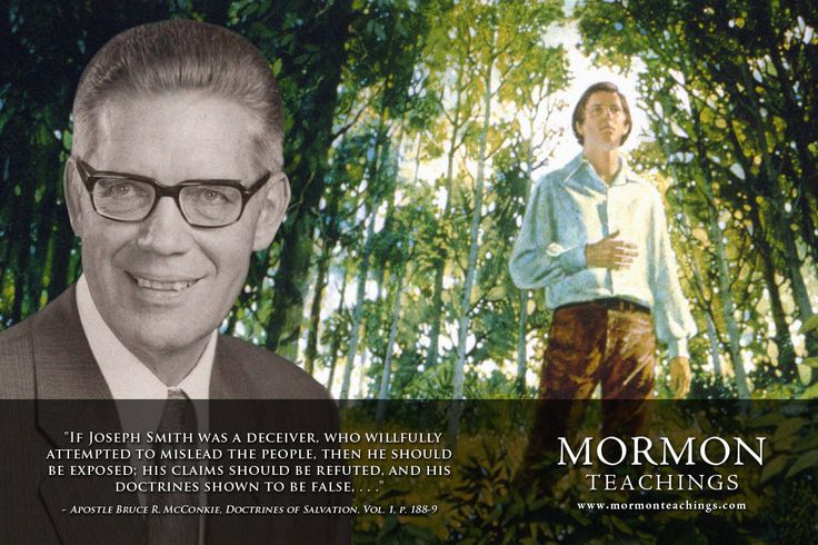 """Shown to Be False - Bruce R. McConkie 
