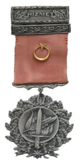 Türk Silahlı Kuvvetleri Üstün Hizmet Madalyası / Turkish Armed Forces Service Commendation Medal