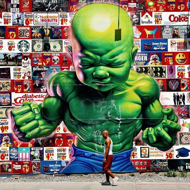 Bowery graffiti wall #nyc #newyork