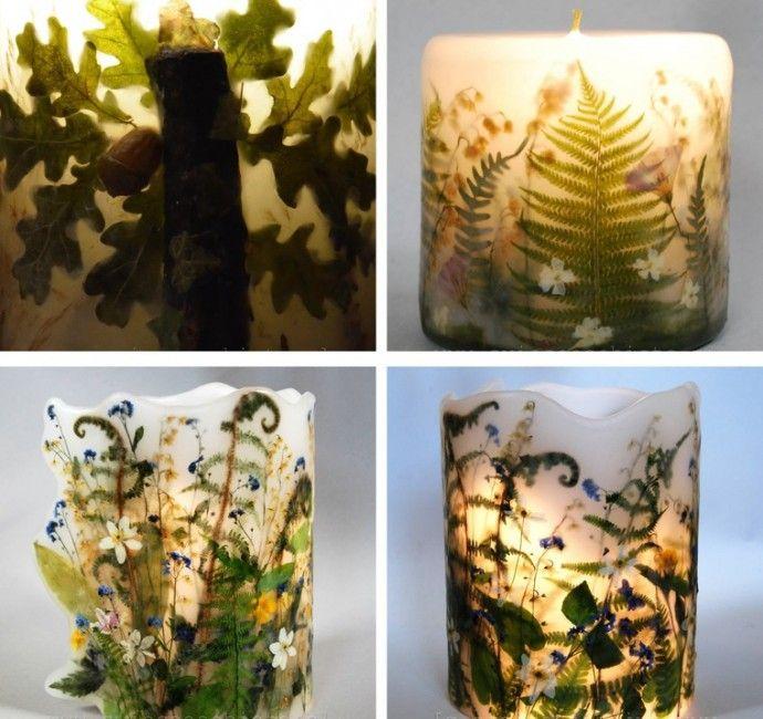 Завораживающие миры Aneta Szuniewicz, или Искусство создания парафиновых свечей…