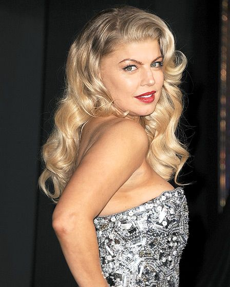 "Fergie ""Old Hollywood Fashion"""