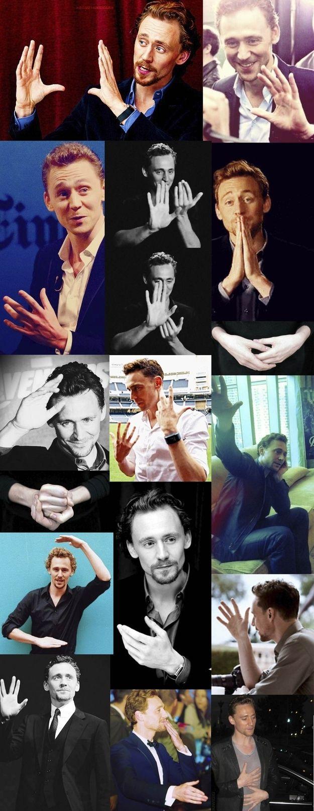 Tom's hands