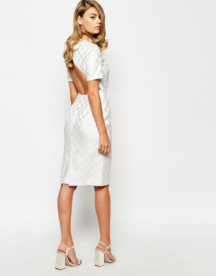 Jax allover lace twofer dress