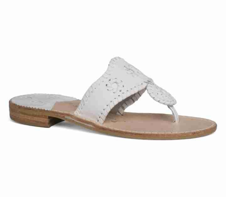 Palm Beach Sandal - White