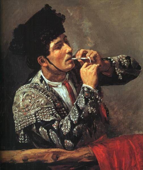"""""""El miedo es el estado natural del valiente"""" (Juan Belmonte) ¡Buenos días! Cuadro: Toreador"""" - Mary Cassat (1844 -  1926)"""