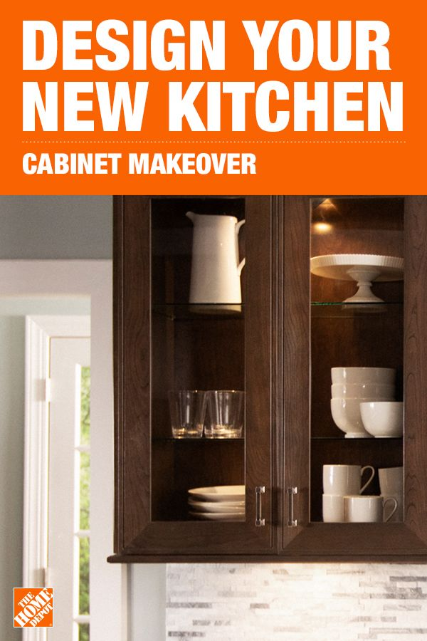 Reimagine Your Kitchen With A Cabinet Makeover From The Home Depot