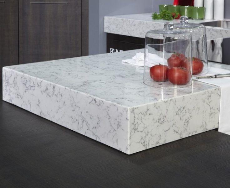 Encimera de silestone o de marmol me ayud is a decidir for Color marmol carrara