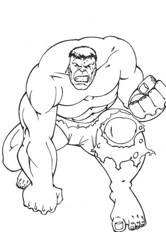 18 best Hulk Coloring Pages images on Pinterest Hulk Coloring