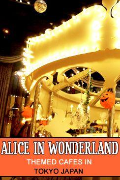 5 Alice in Wonderland Themed Cafe-Restaurants in Tokyo