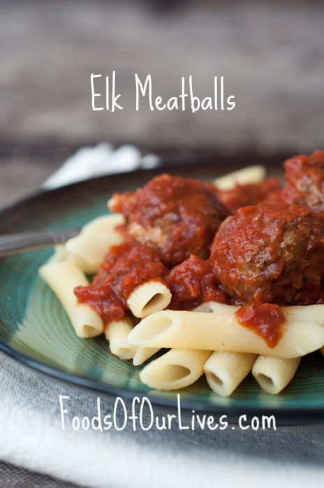 Elk Meatballs   FoodsOfOurLives.com