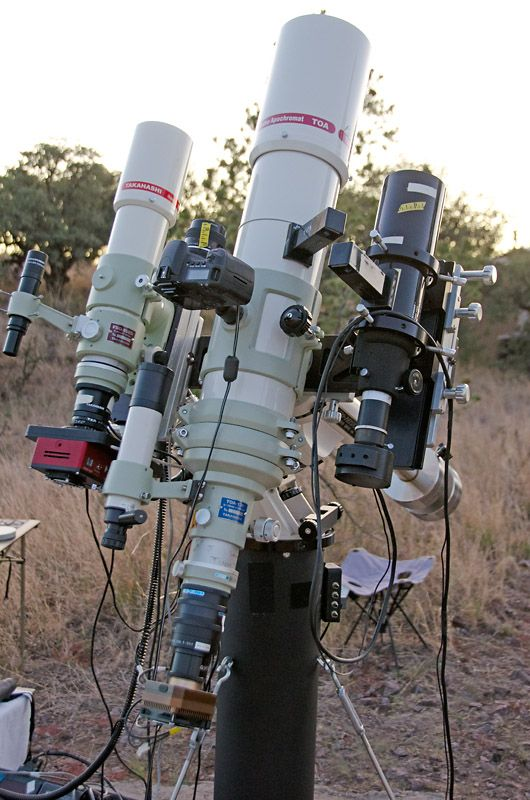 Amateur astronomical observatory space