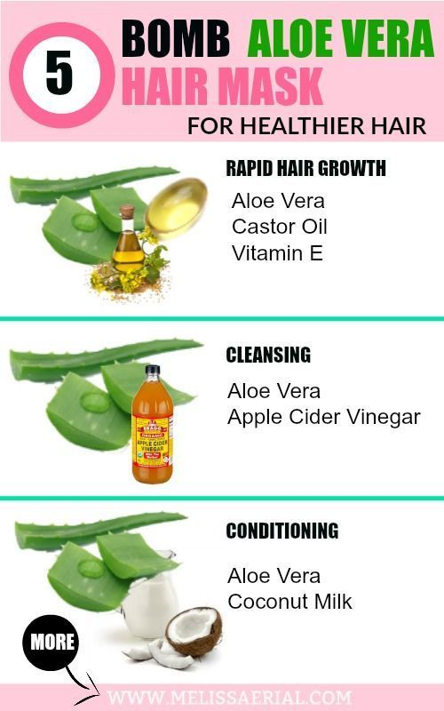 Aloe Vera Gel For Hair Growth And How To Use It On Your Natural