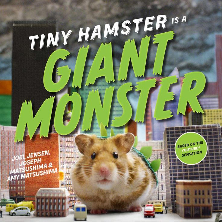 monster resignation letter%0A Tiny Hamster is a Giant Monster  cute picture book featuring a hungry  little hamster who