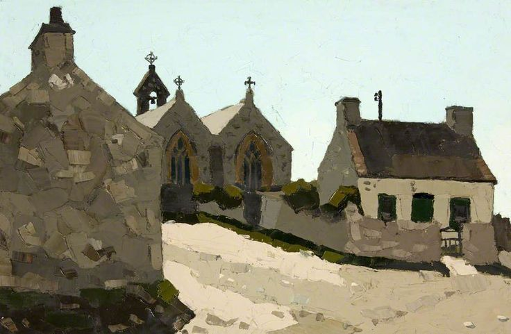 The Church and Cottages, Aberffraw
