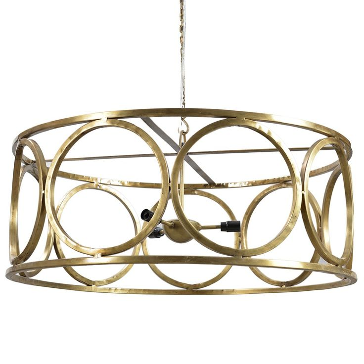 The iron 5 light chandelier by dovetail is part an eclectic range of handmade furniture