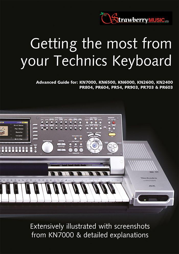 technics kn 800 user manual