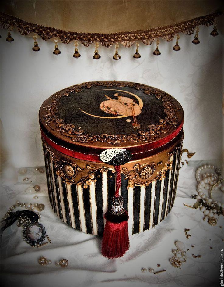 """Купить """"Joyeux Noеl"""" Новогодний набор - шкатулка ручной работы, большая шкатулка, Новый Год"""