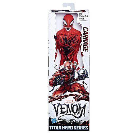 NEUVE titan hero series Figurine CARNAGE Marvel Avengers