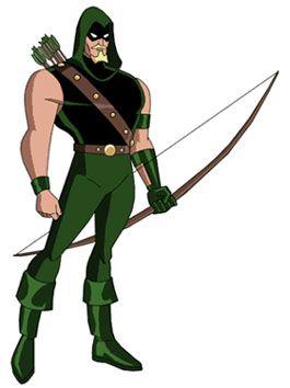 Resultado de imagem para arqueiro verde liga da justiça