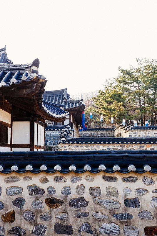 Namsangol Hanok Village in Seoul, Korea